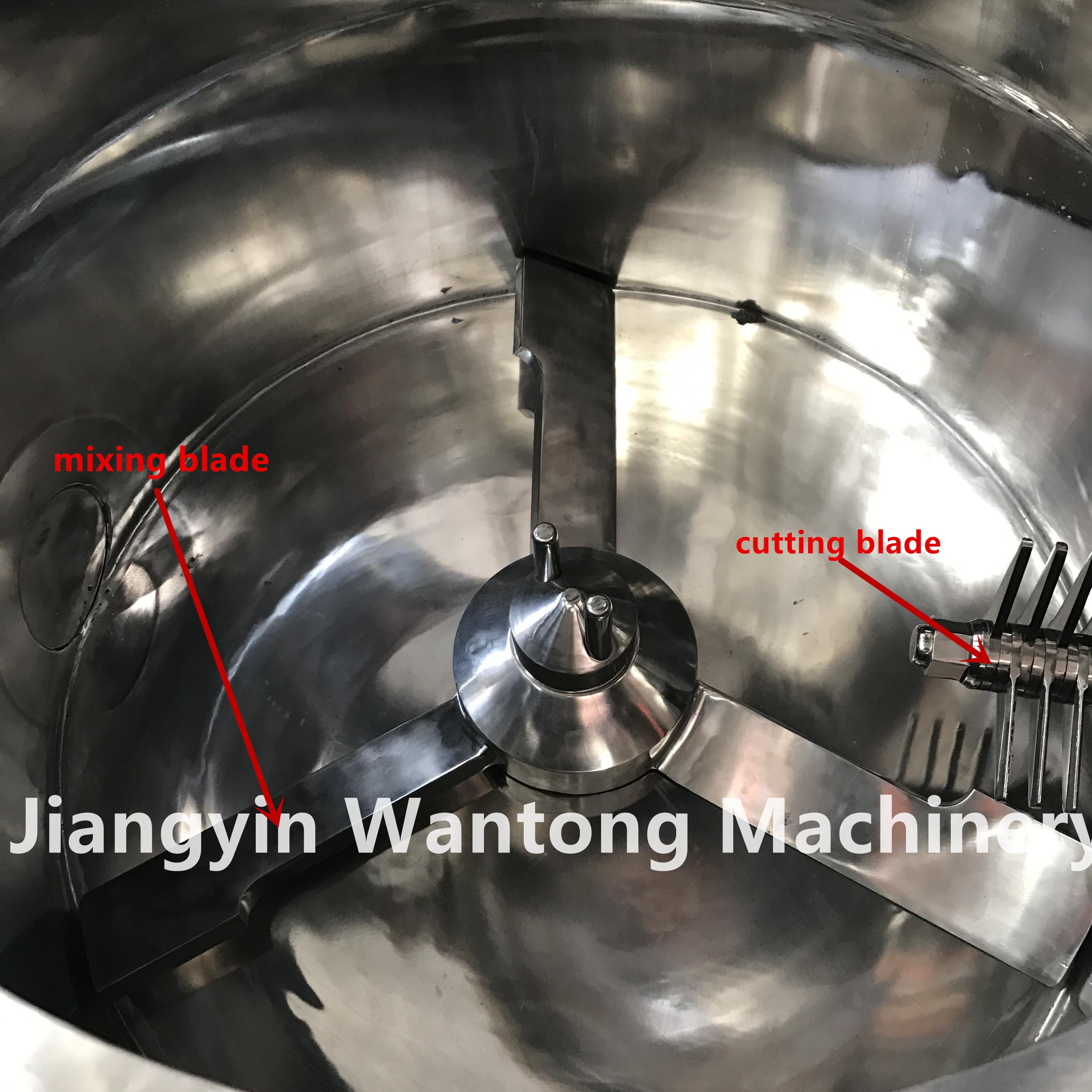 high shear cut mixing granulator