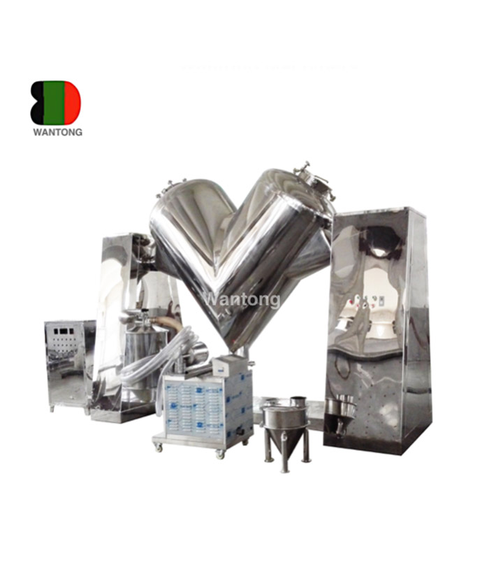 Why Are V Type Mixer Widely Favored By Factories?