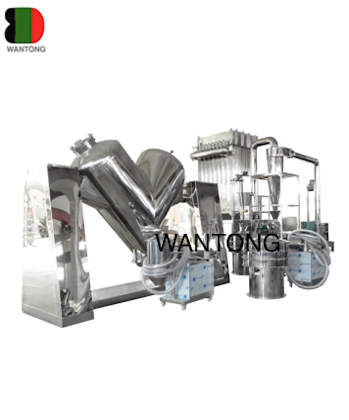 Normal Operation Process Of V Type Mixer