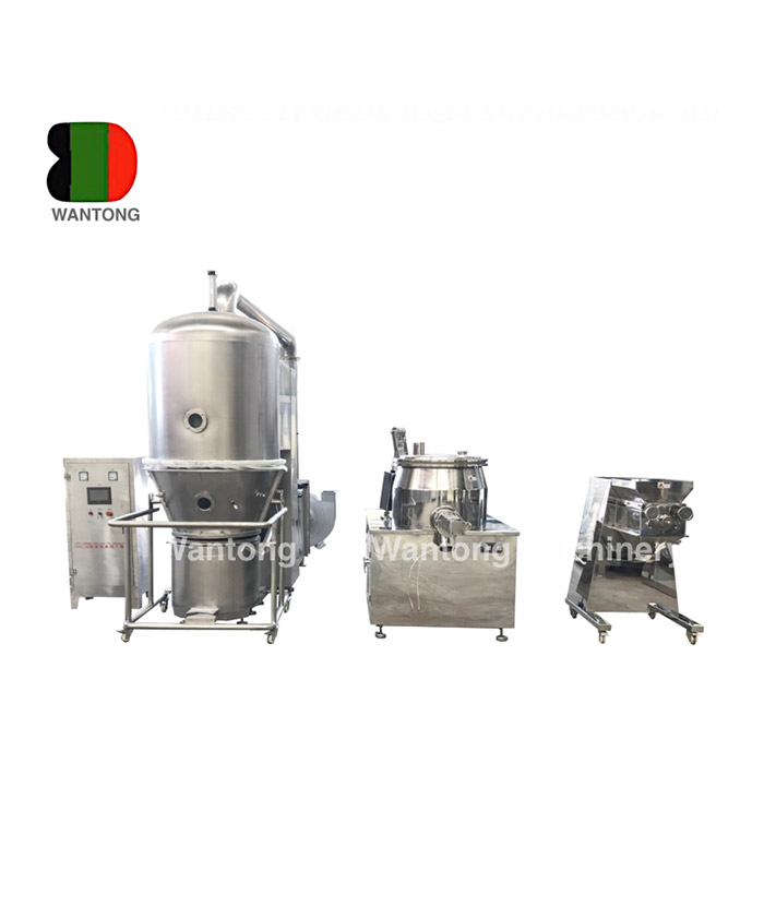 GFG Fluid Fluidized Bed Dryer