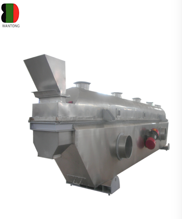 continously vibrating fluid bed dryer