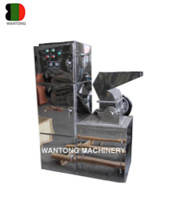 Coarse Crushing Machine With Dust Collector