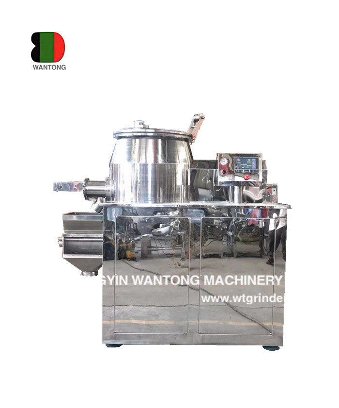 high shear cut mixing granulator
